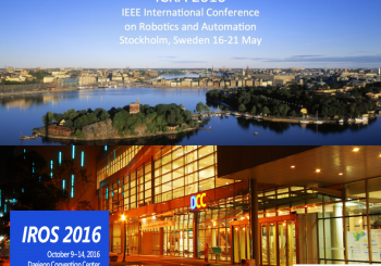 GRVC  at 2016 IEEE Conferences