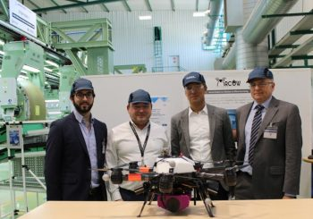 ARCOW project presented to Dirk Hoke, Chief Executive Officer of Airbus DS