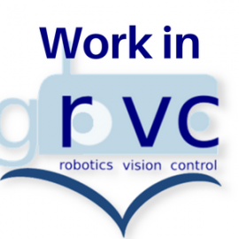 Available positions at GRVC