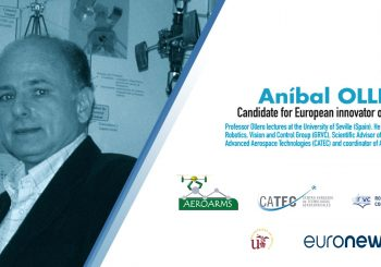 Anibal Ollero elected between the European Innovators of the year