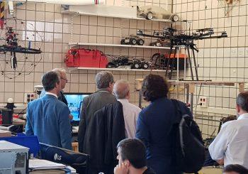 Visit of Navantia to the GRVC's facilities
