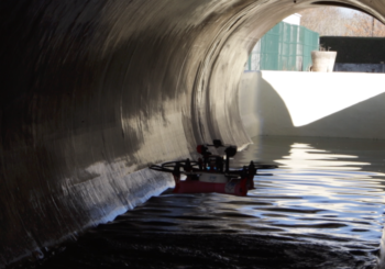 Drones for water collectors inspection