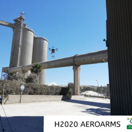 AEROARMS Campaign of industrial experiments