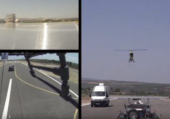 GRVC participates in the first landing method without GPS