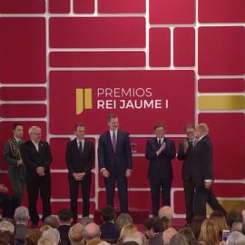 Anibal Ollero has received the Rei Jaume I Award