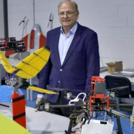 Professor Ollero, head of GRVC, interviewed by the ABC newspaper about the future of drones and their applications