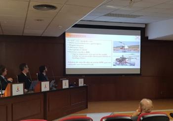PhD thesis presentation by Francisco Alarcón