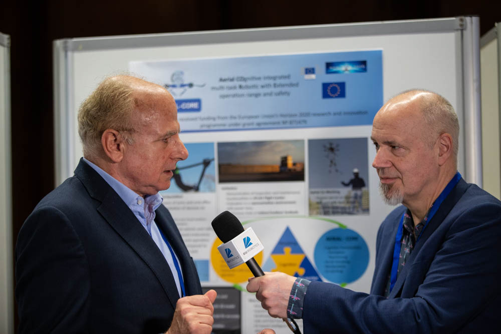 European Robotics Forum 2020 interview to Anibal Ollero