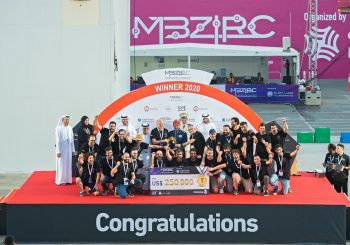 Iberian Robotics winners of the Challenge 3 of the MBZIRC
