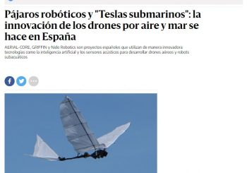 """Anibal Ollero for elDiario.es """"The key of our project is that we use cognitive techniques of artificial intelligence"""""""