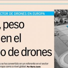 """Expansión: """"Spain in the drone sector, leaders both in Europe and globally"""""""