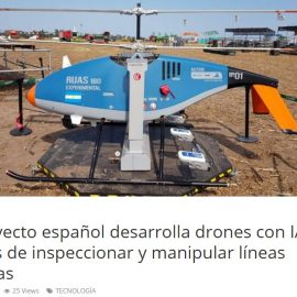 "An article about AERIAL-CORE in ""Tu Noticia Express"""