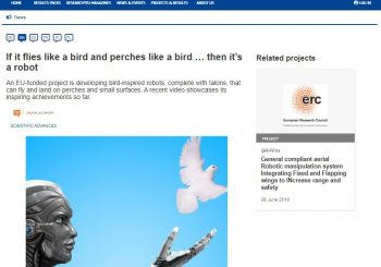 A new article in CORDIS about GRIFFIN project
