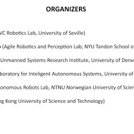 ICRA 2021 Aerial Robotics Workshop