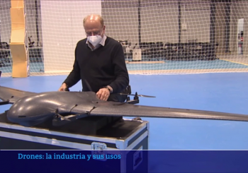 A New Article in RTVE about Drones